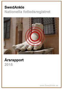 Miniatyrbild av förstasidan på årsrapporten 2015.